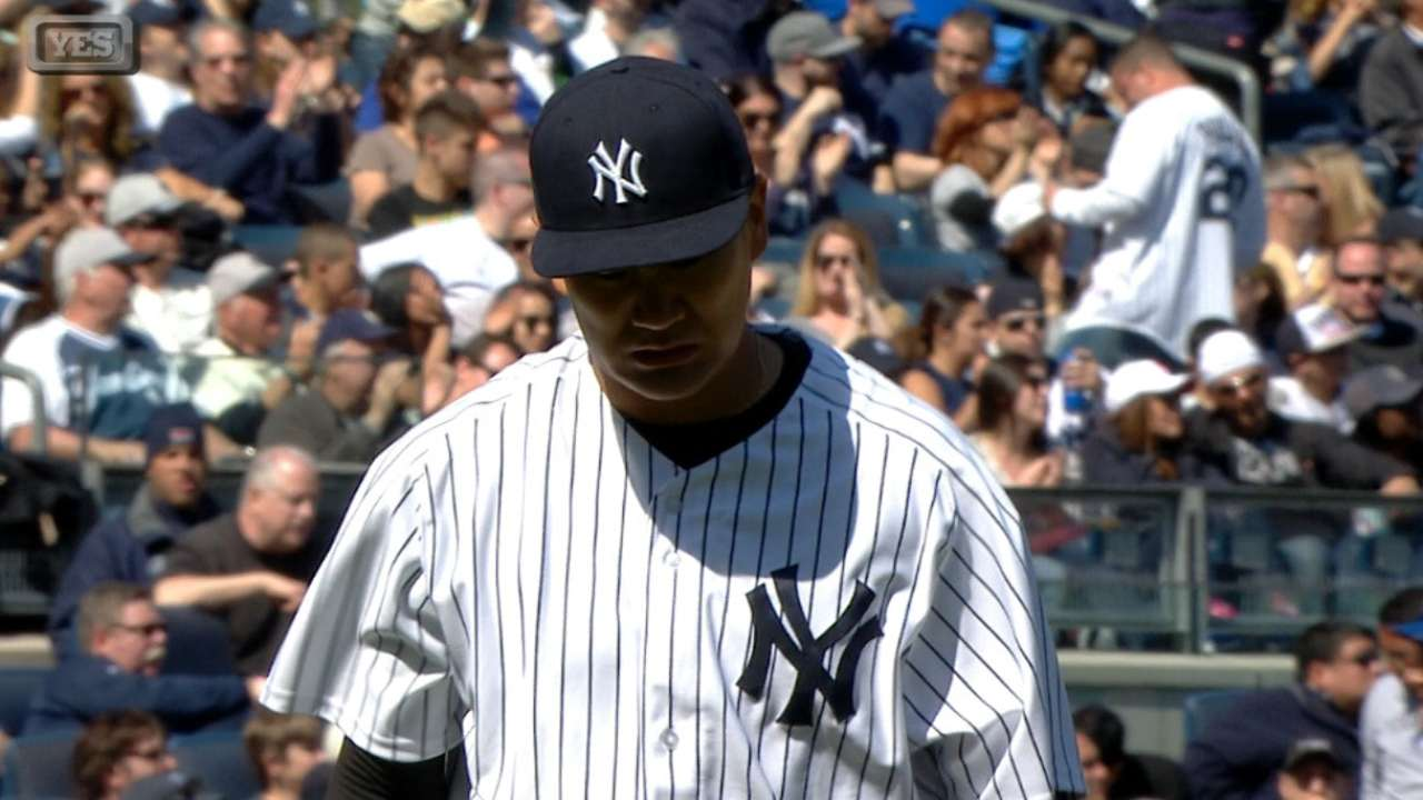 Yanks don't believe health hampered Tanaka