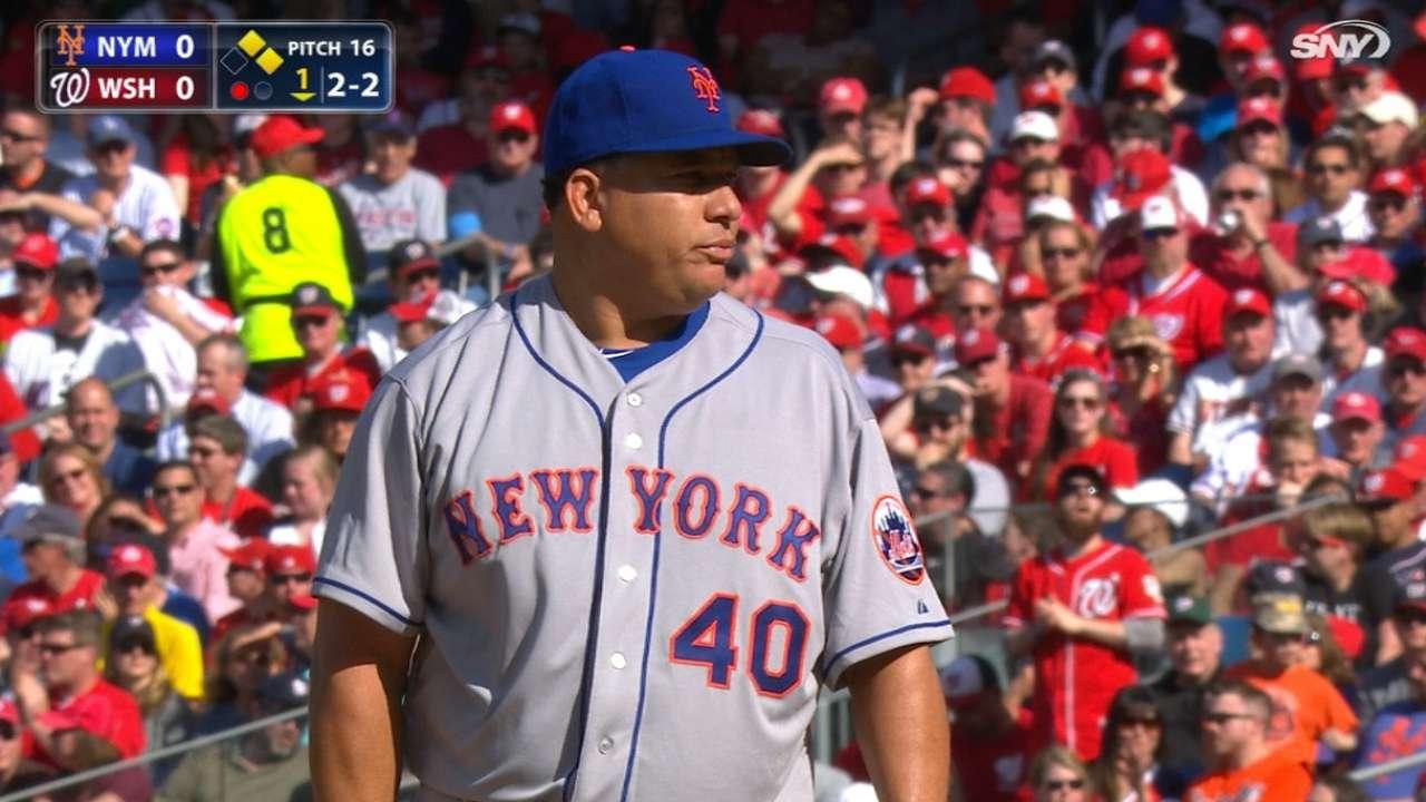 Colón sacó la casta y le premió la confianza a Mets