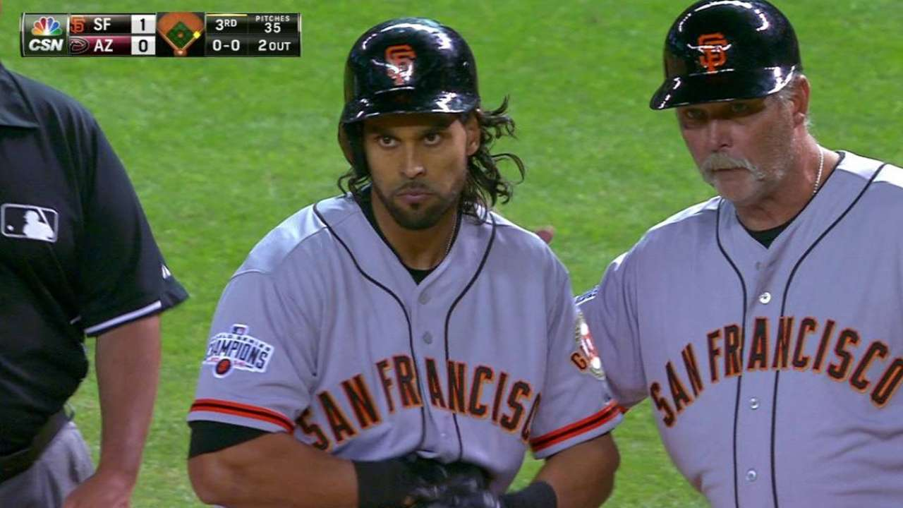 Pagan's RBI single