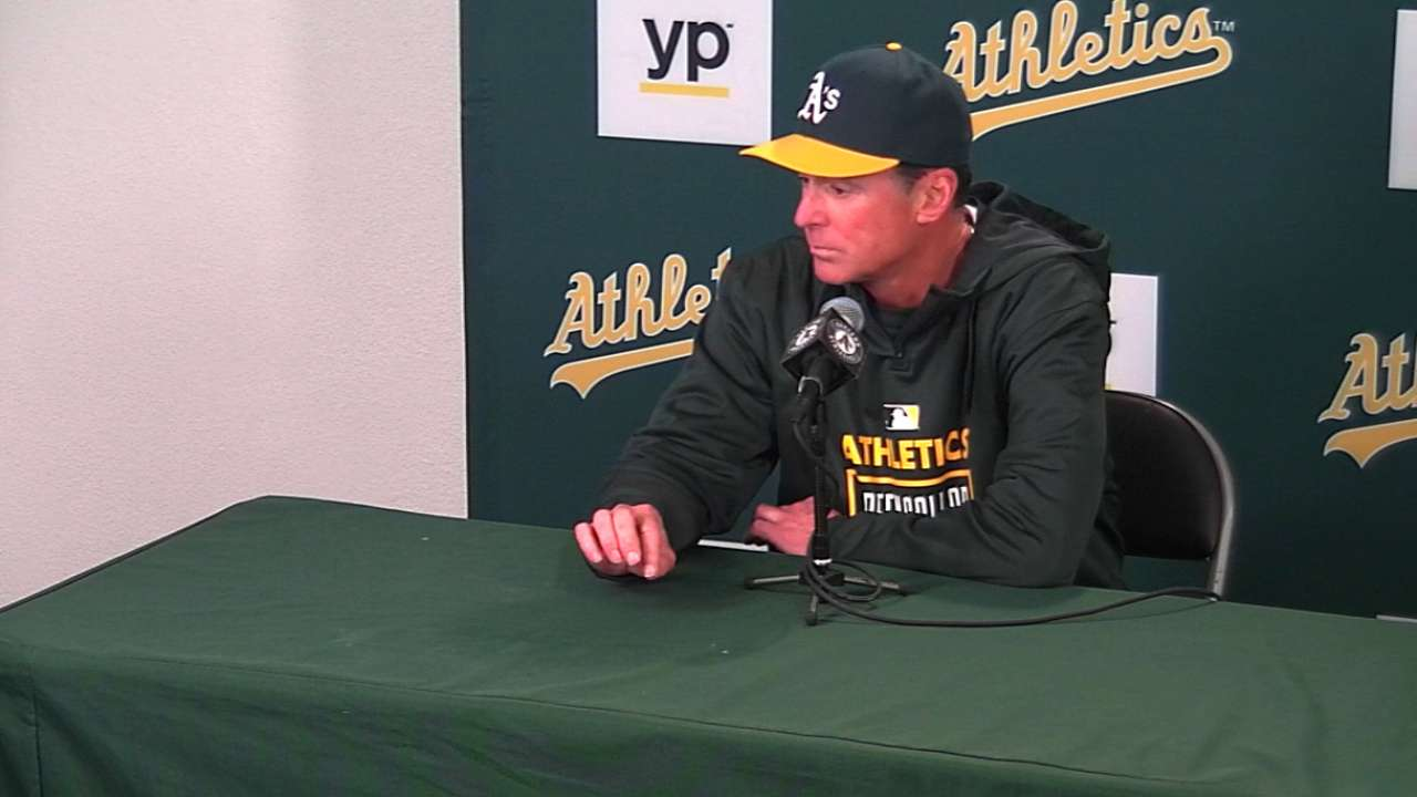 Melvin on Gray, A's win