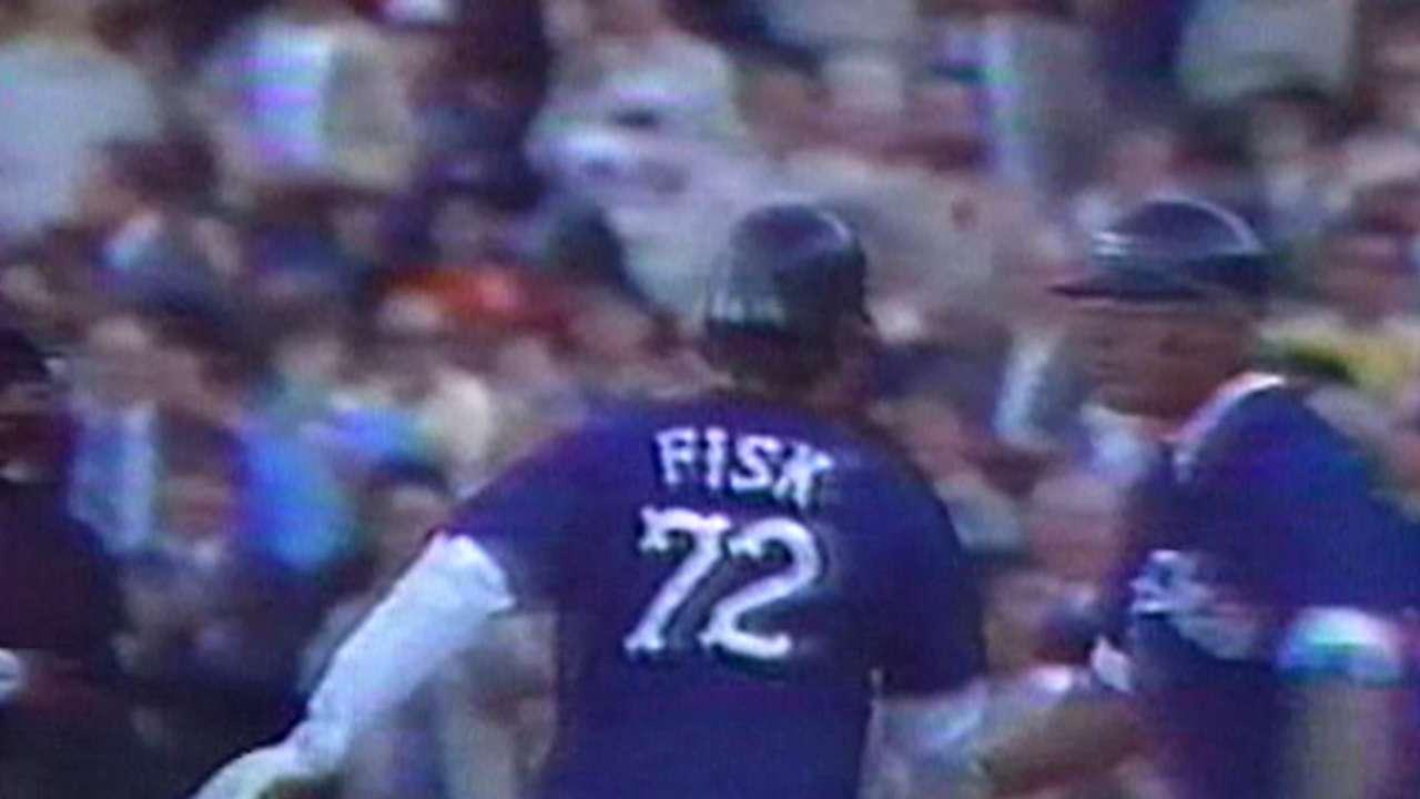 Fisk's Opening Day monster homer