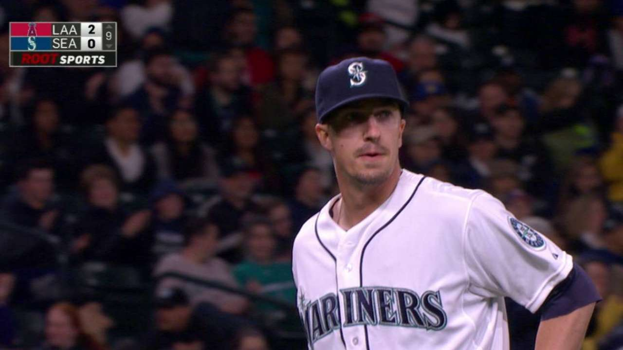 Olson gets double play in debut
