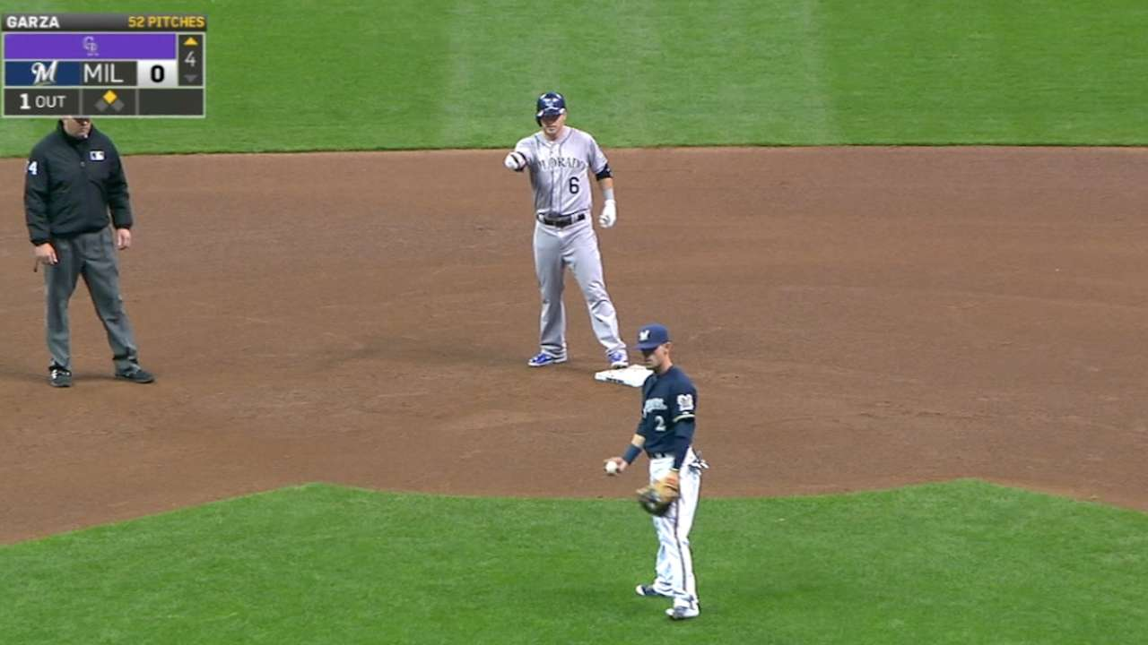 Rockies prove to be double the trouble for Brewers