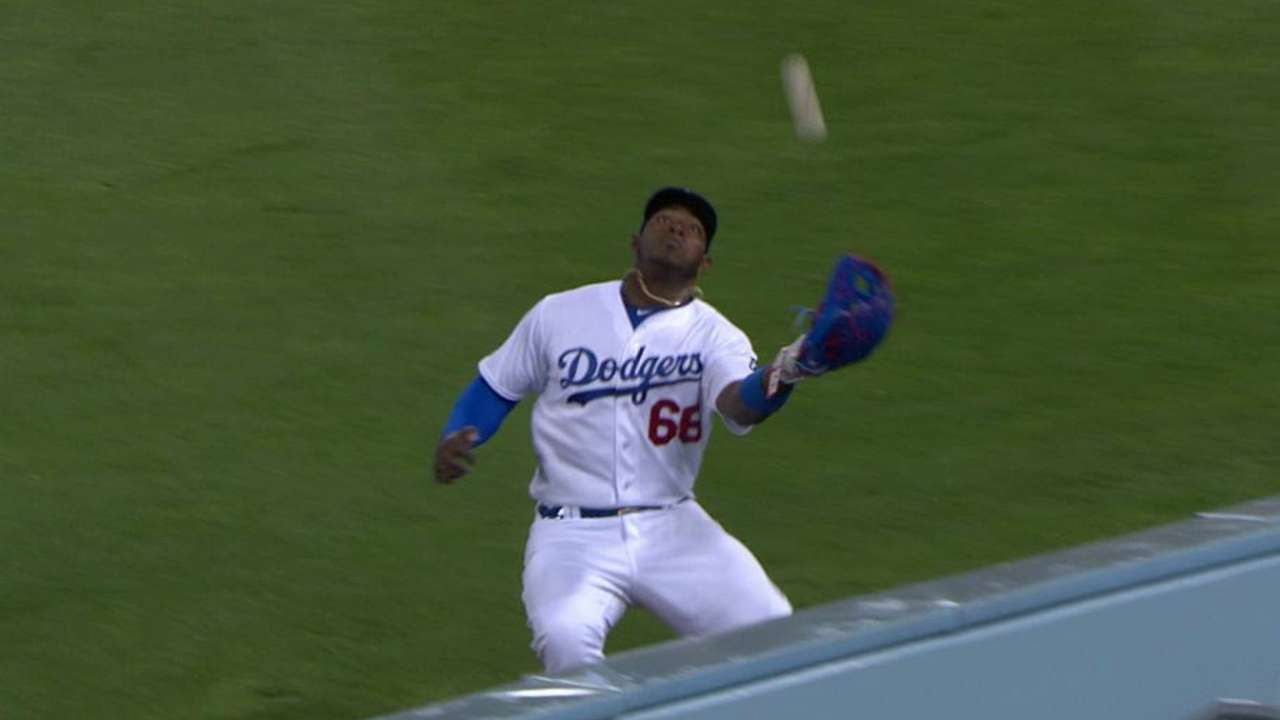 Mattingly, Greinke marvel at Puig's jaw-dropping accuracy