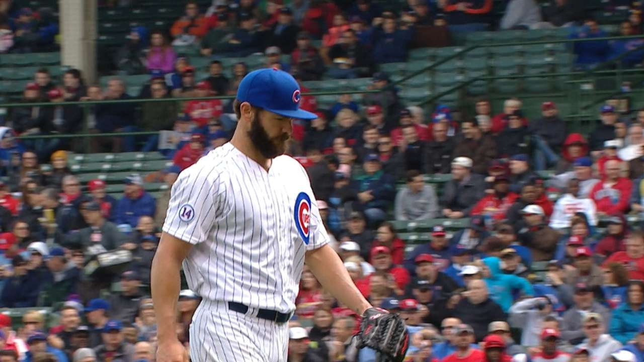 Montero's 'chat' spurs Arrieta to click into gear