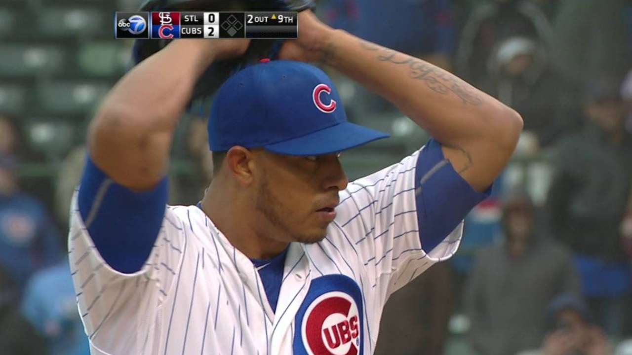 Rondon earns the save