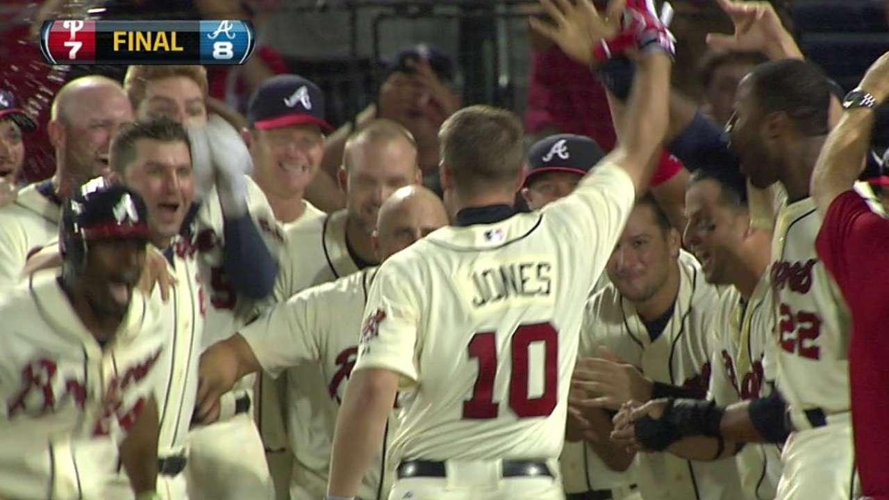 Chipper's walk-off home run