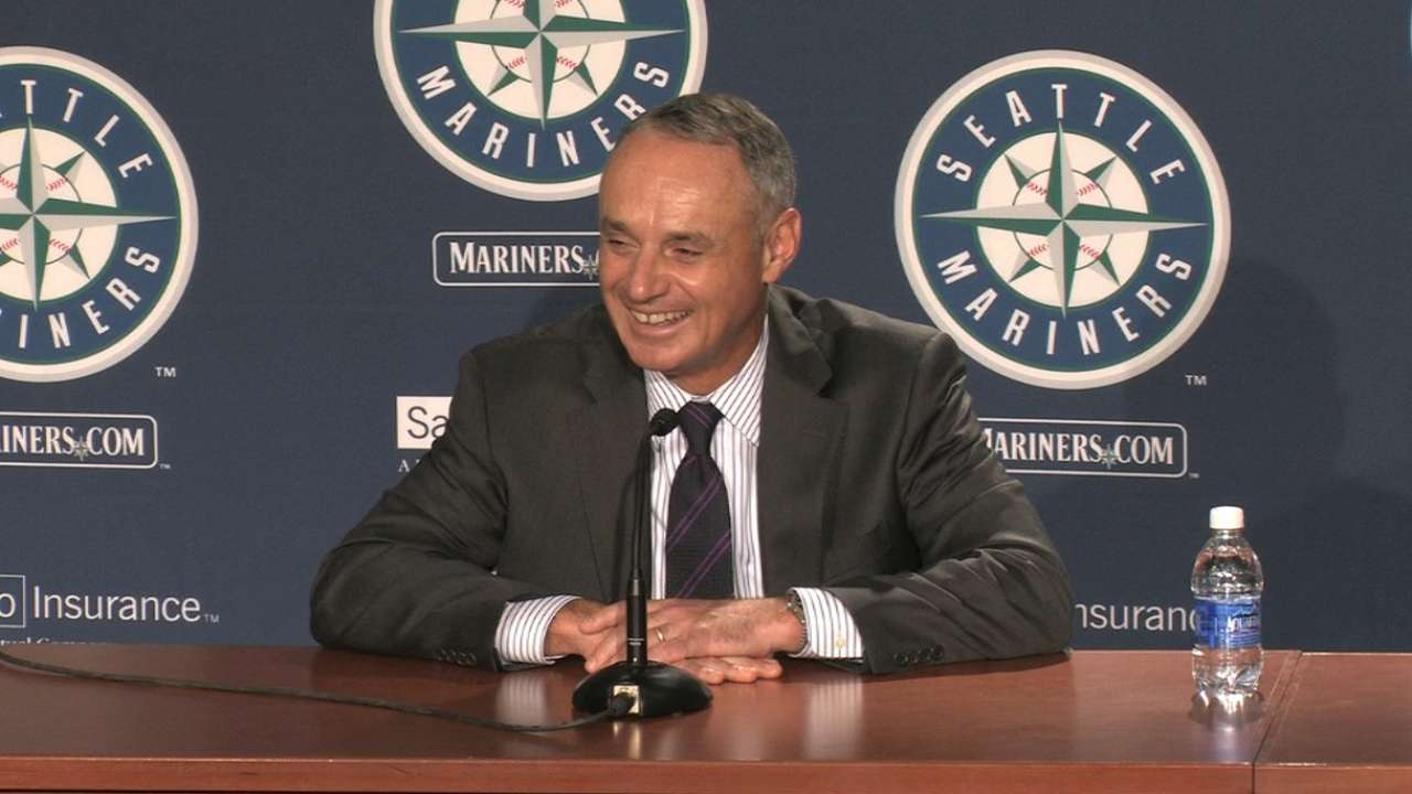 Manfred on labor relations