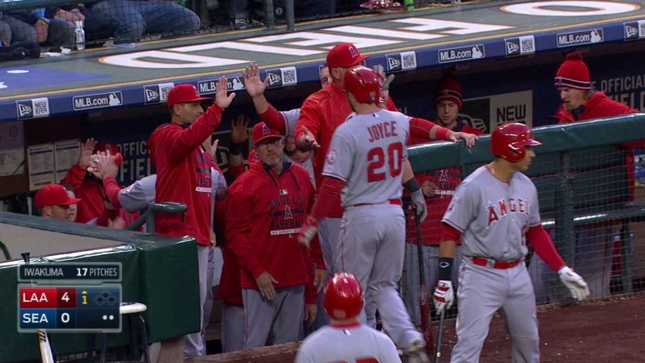 Angels plate two on error