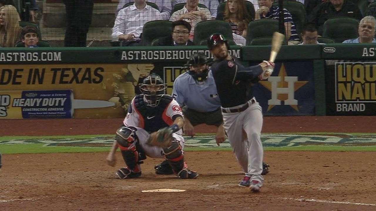 Aviles' solo home run
