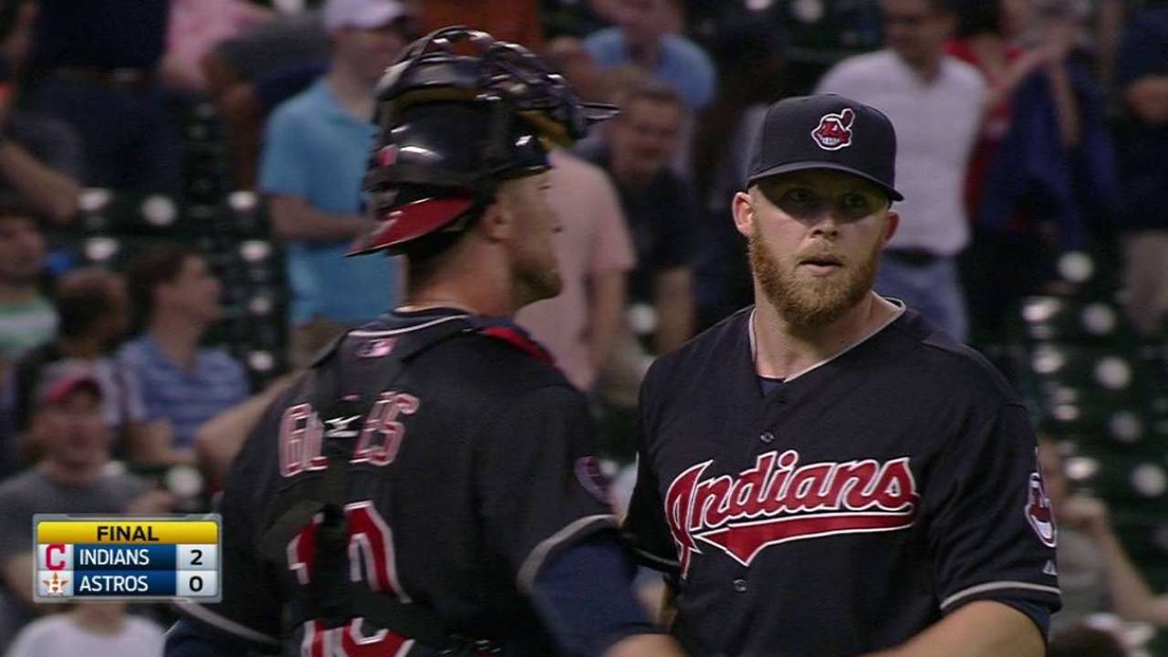 Strikeouts prove to be problem for Astros vs. Tribe