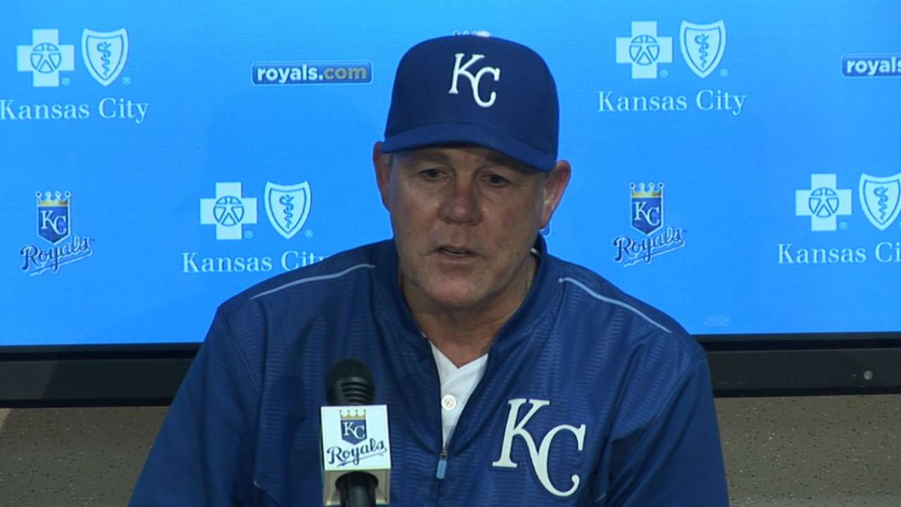 Yost is happy with the Royals