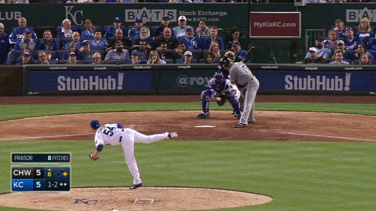 Frasor gets his second strikeout