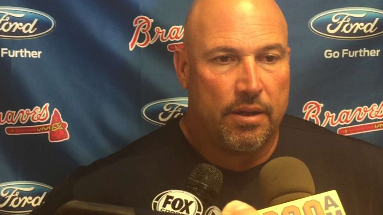 Fredi on sweeping the Marlins