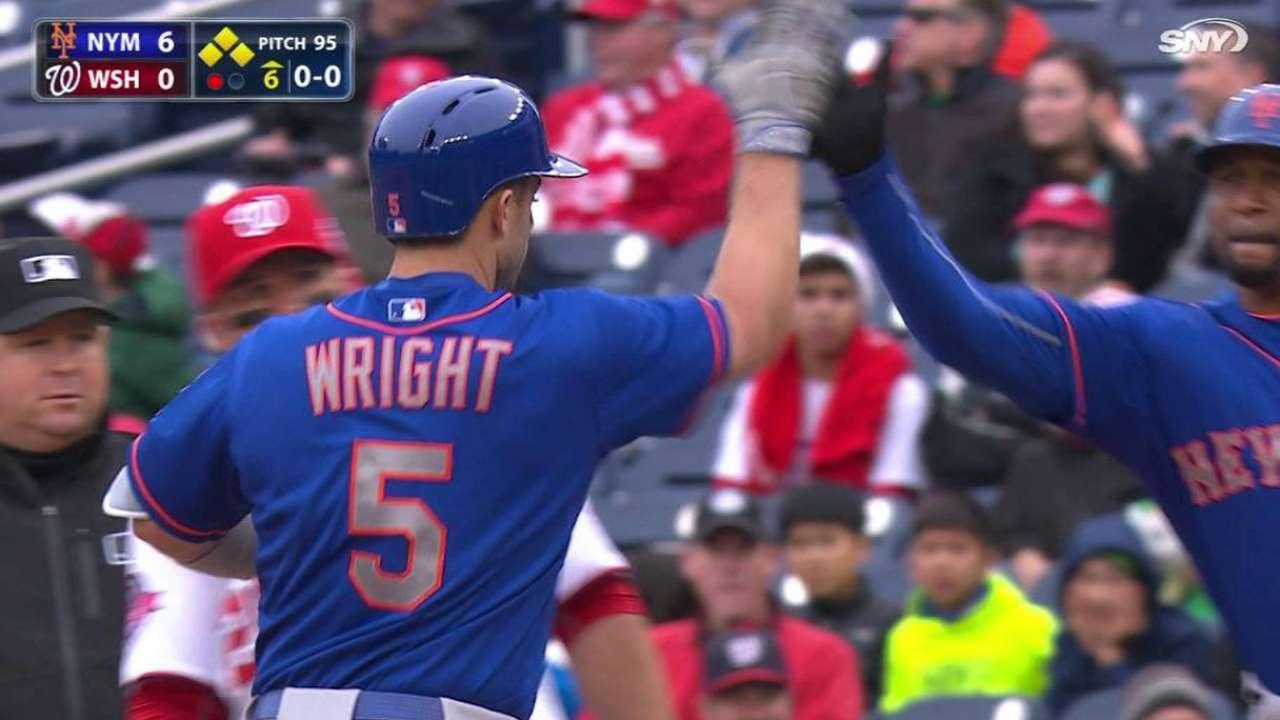 Wright's two-run single
