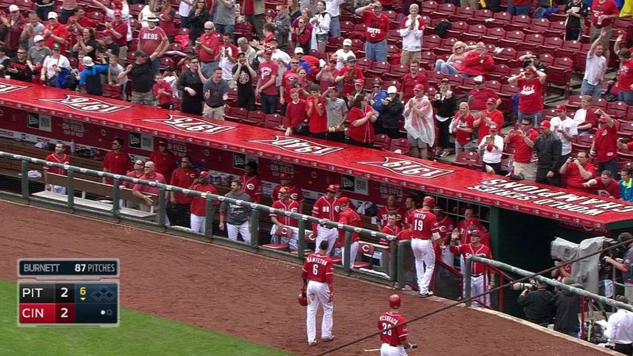 Votto showing his power is back in a big way