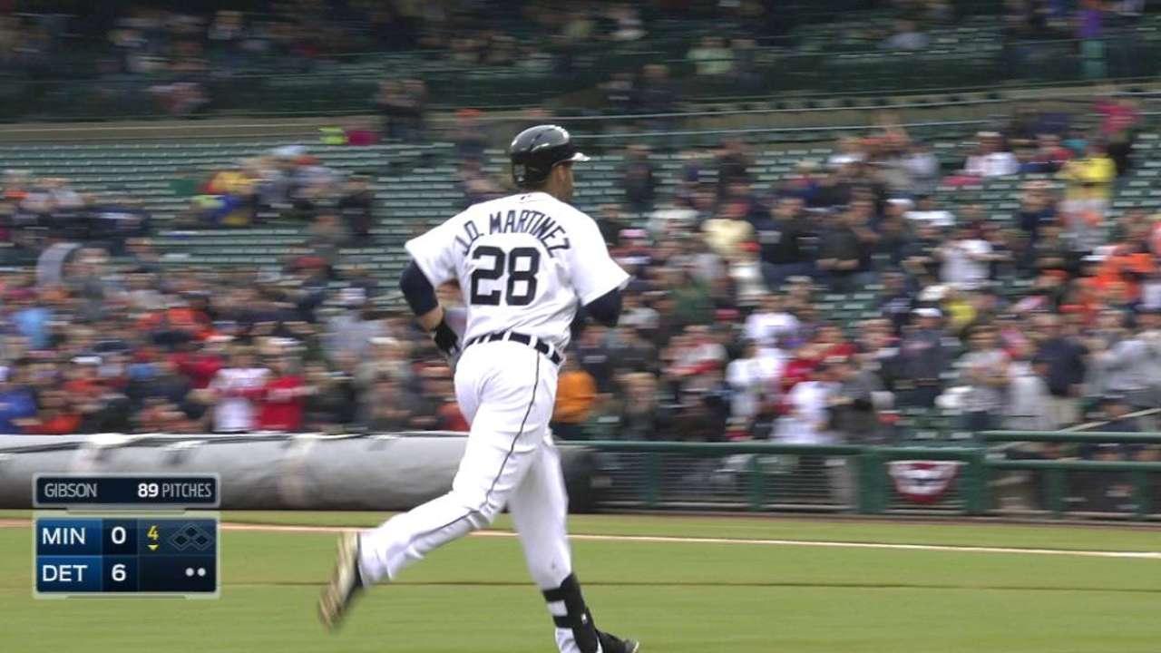J.D. Martinez's two-run blast