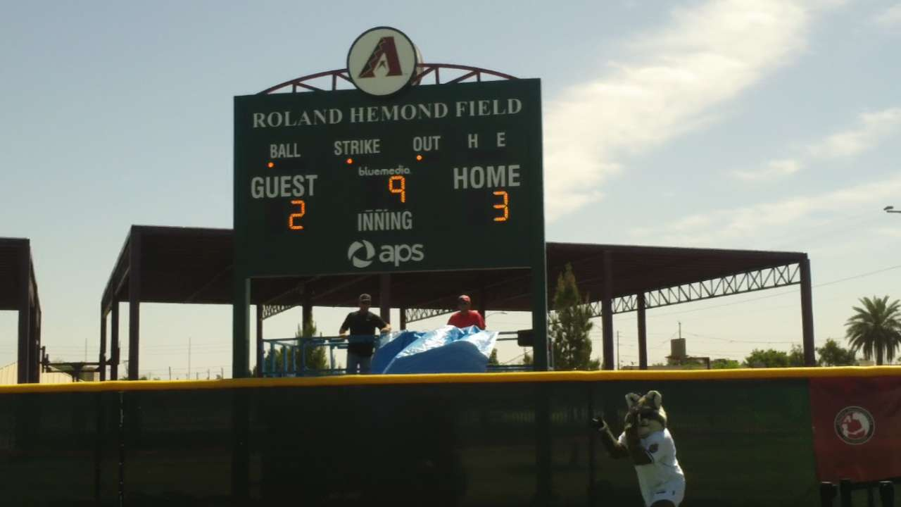 D-backs honor legend Hemond with new youth field