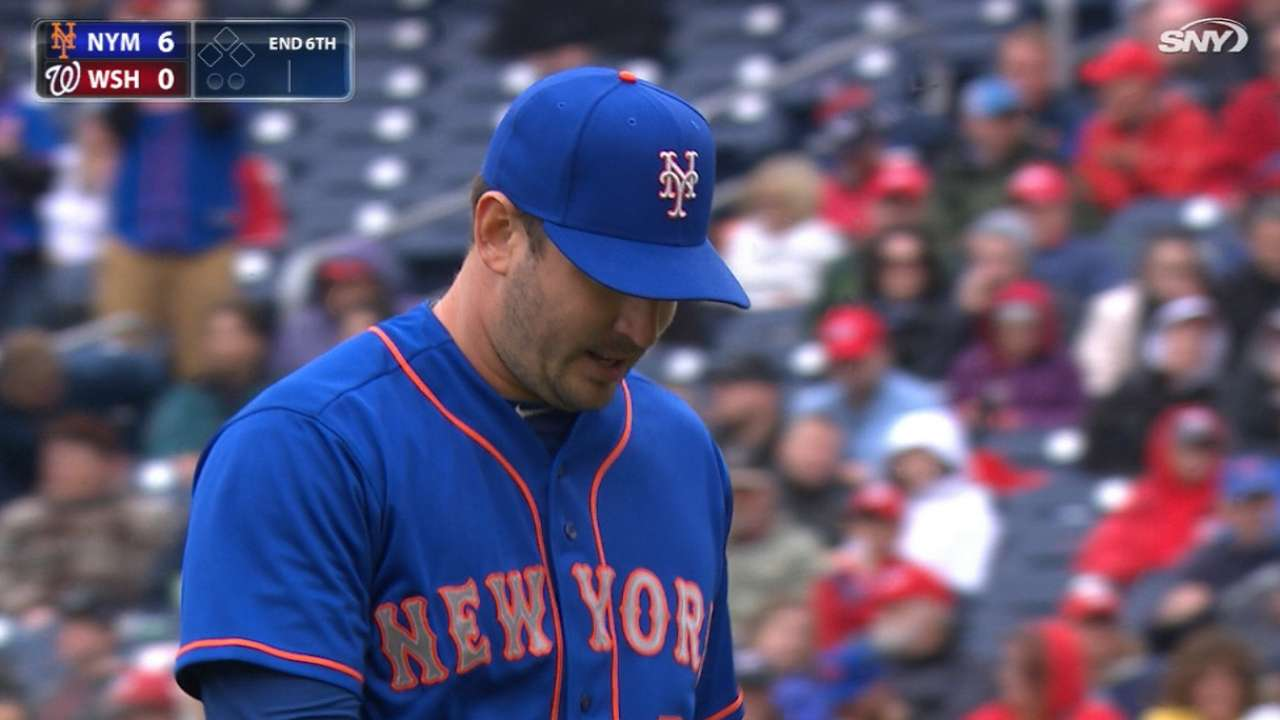 Harvey's 9 K's lead Mets past Strasburg, Nationals