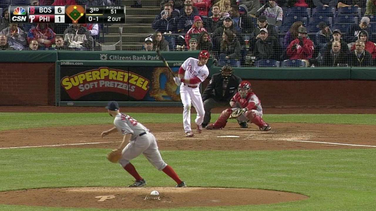 Phillies still waiting for offense to arrive