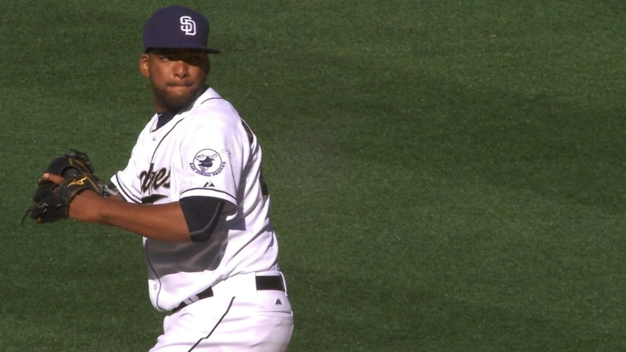 Padres in good position with Despaigne in the wings