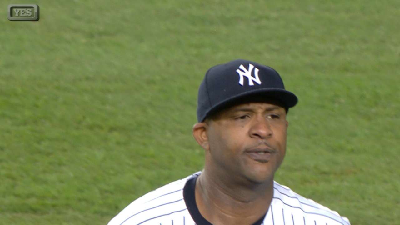 Sabathia shows promising signs after lengthy layoff