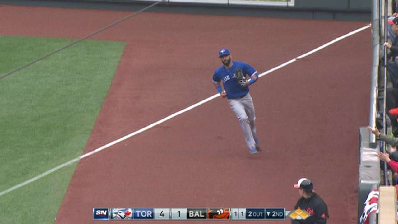 Buehrle's big out ends threat