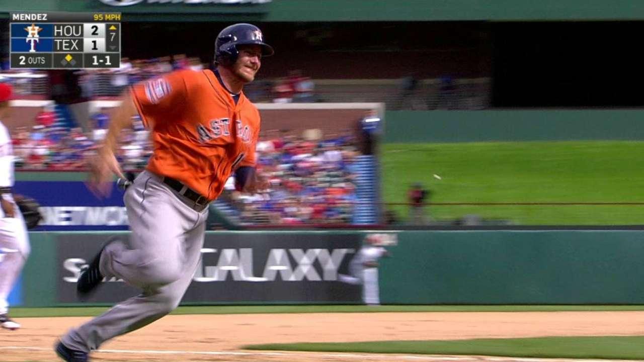Stellar Marisnick boosts bottom of Astros' order