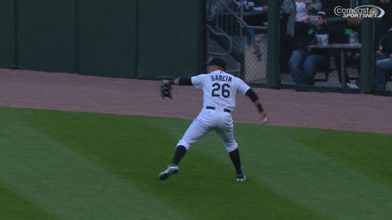 Garcia not ready to start diving for balls