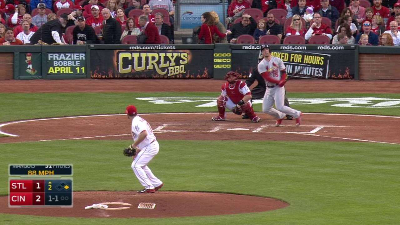 Squat sends Grichuk to DL with lower-back strain