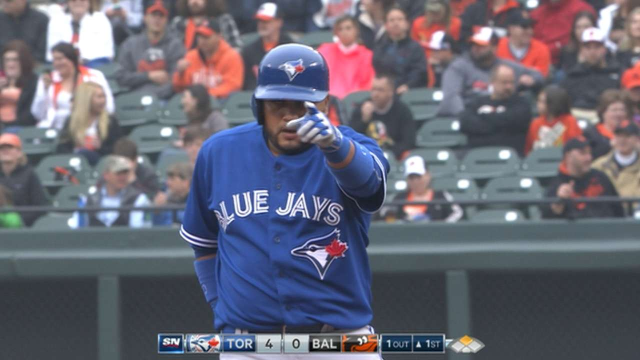 Blue Jays bucking offencive trend with aggressive approach
