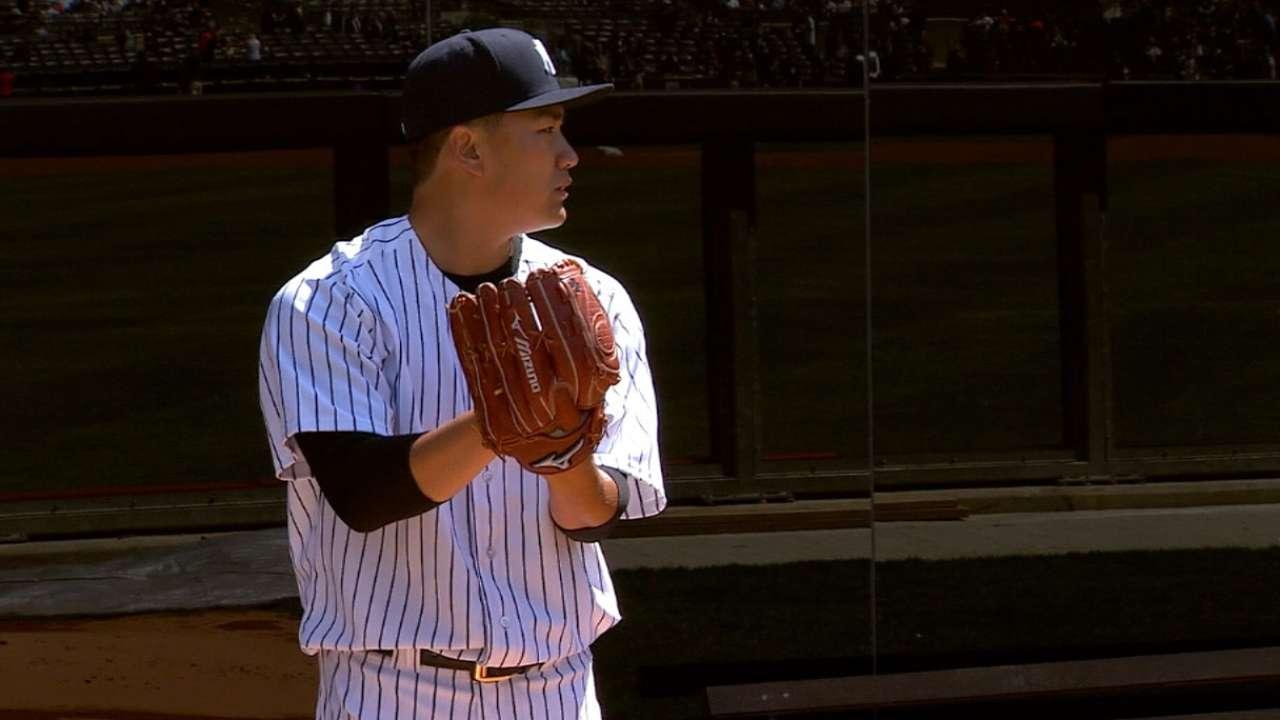 Pedro: Tanaka 'probably at 65 percent'