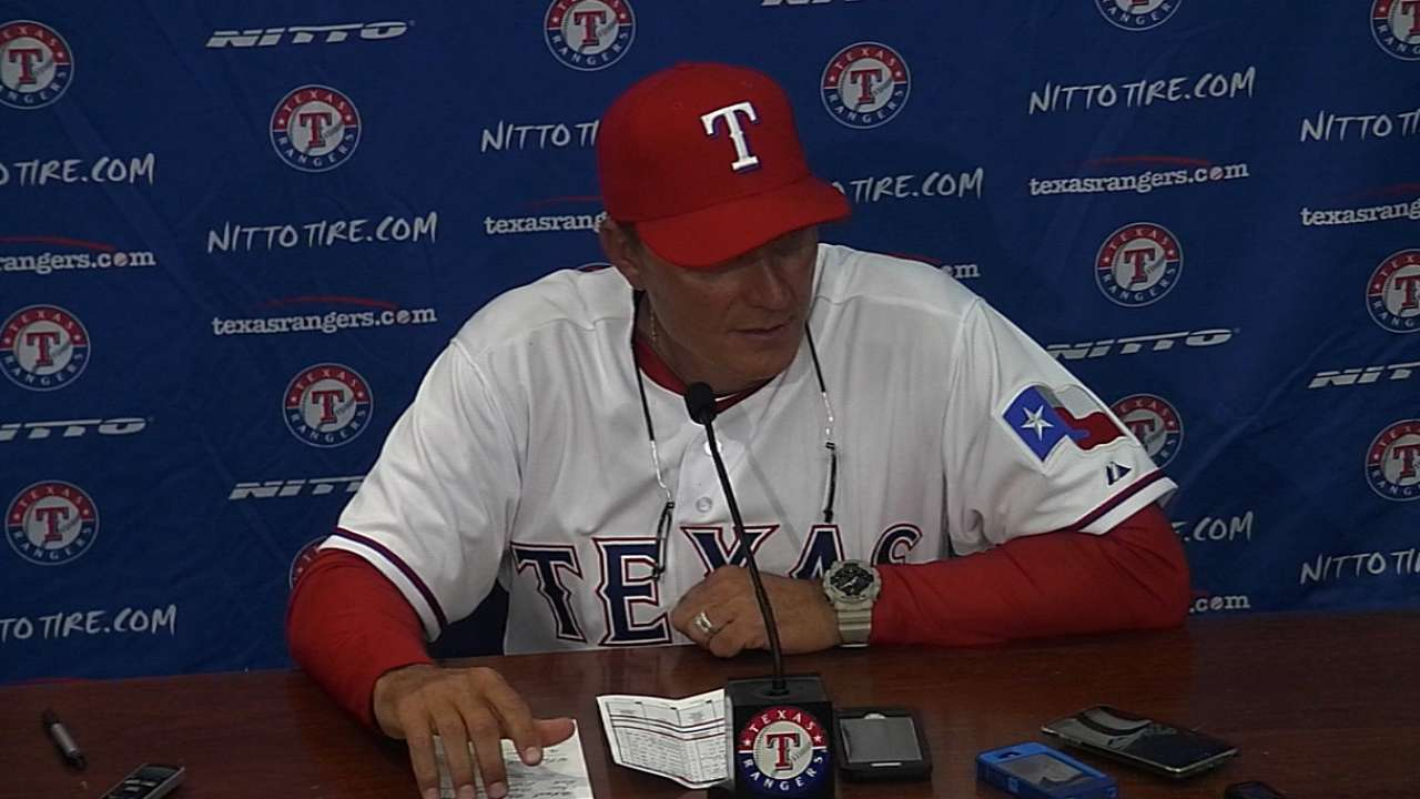 Banister on Rangers' injuries