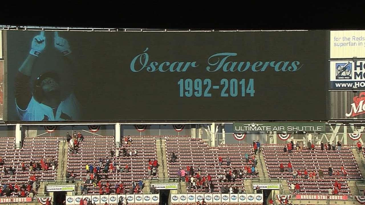 Cardinals to observe Oscar Taveras Day Sunday