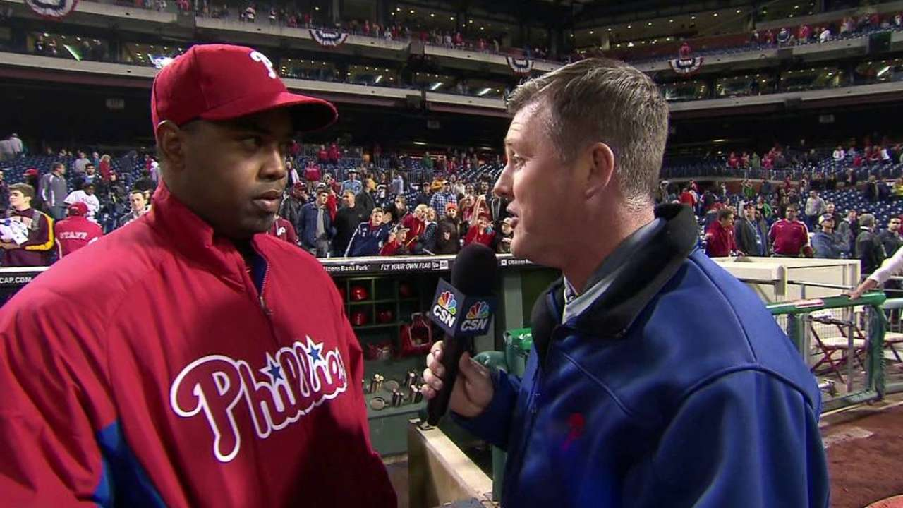 Williams on his outing, winning