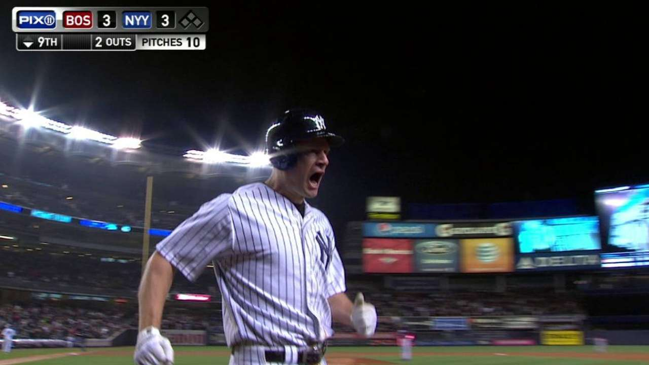 Homers from Headley, Teixeira not enough to propel Yanks