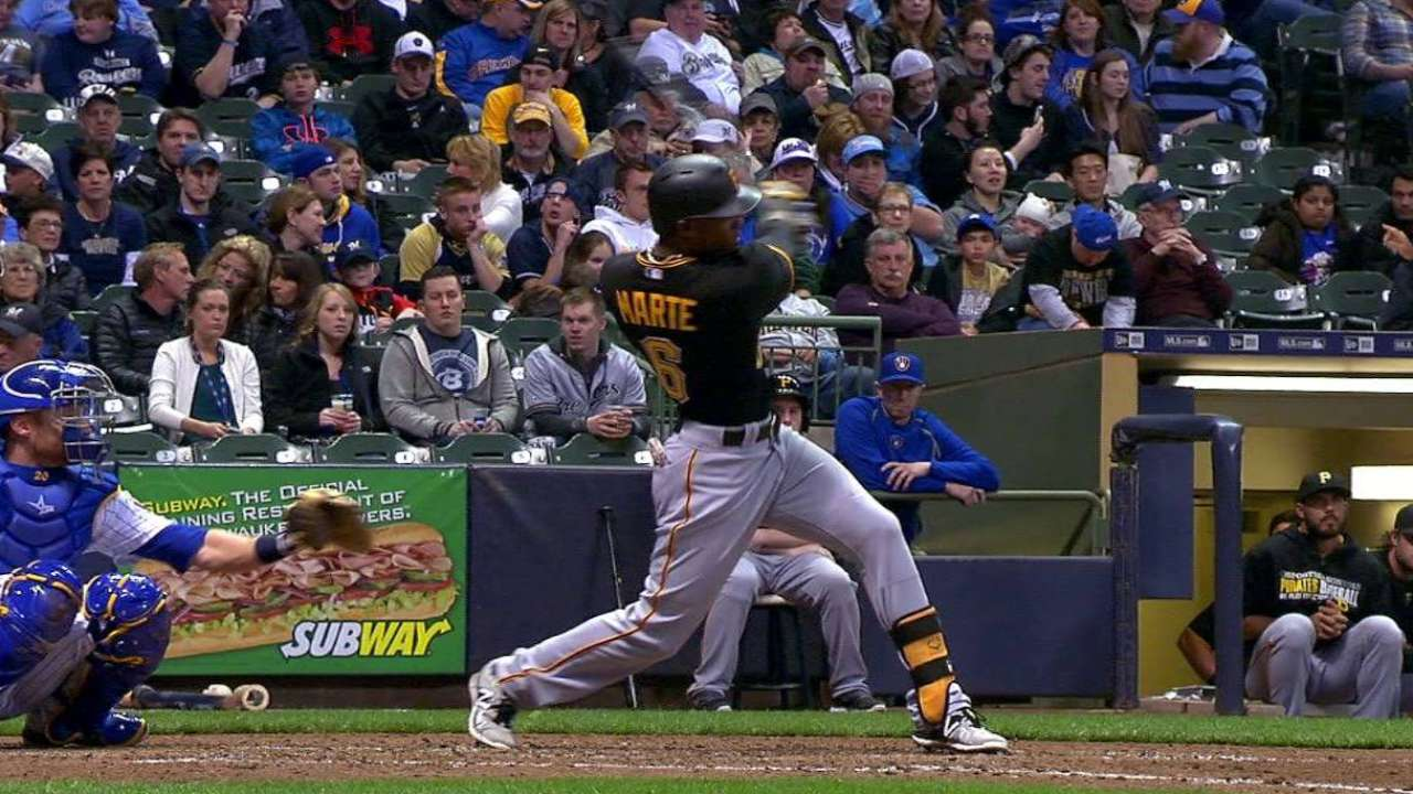 Hurdle not concerned about slow-starting Marte