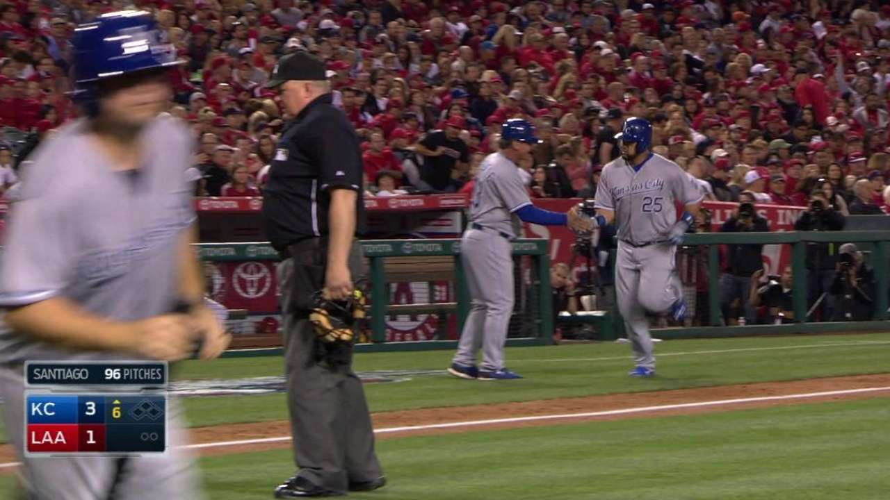 Royals' run of dominance over Angels continues