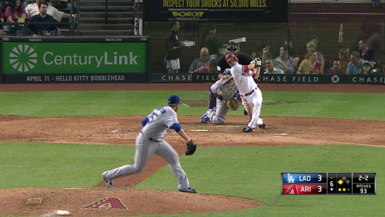 Anderson strikes out Owings