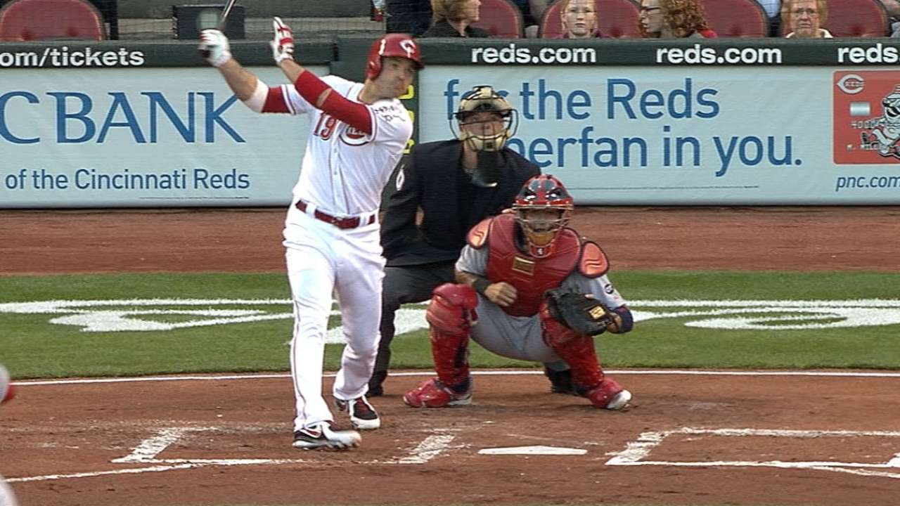 Votto's two-homer game