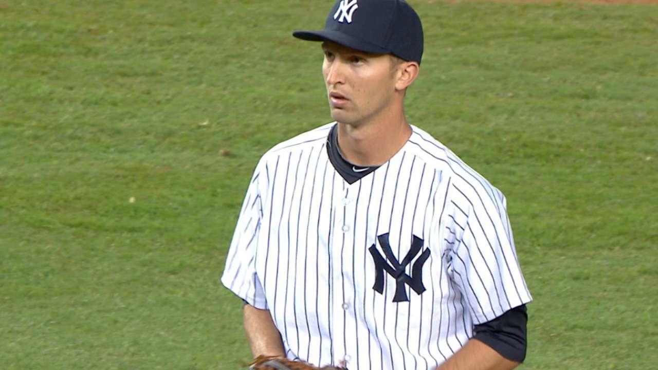 Yankees option Shreve to get relief help after marathon