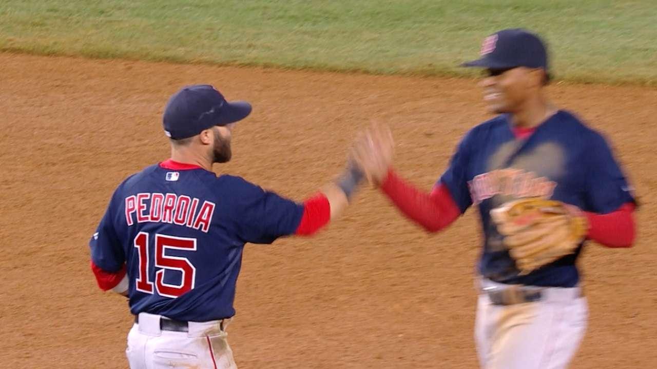 #THIS: Red Sox turn a stellar DP
