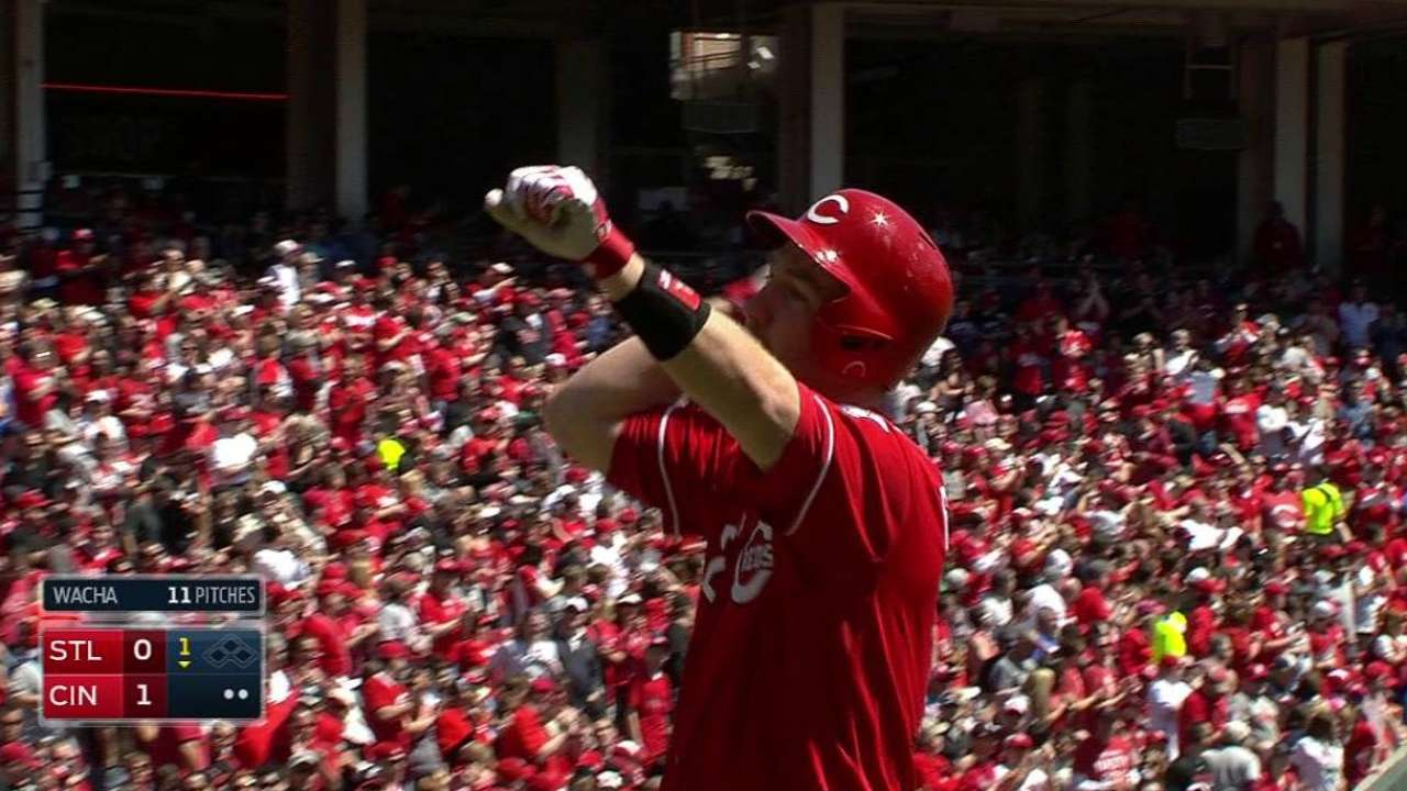 Frazier's solo home run