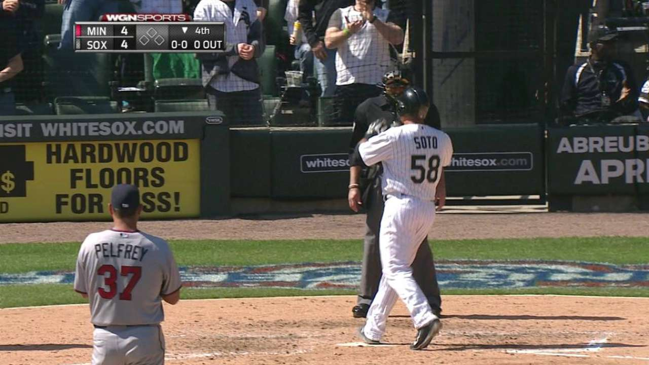 Soto's solo home run