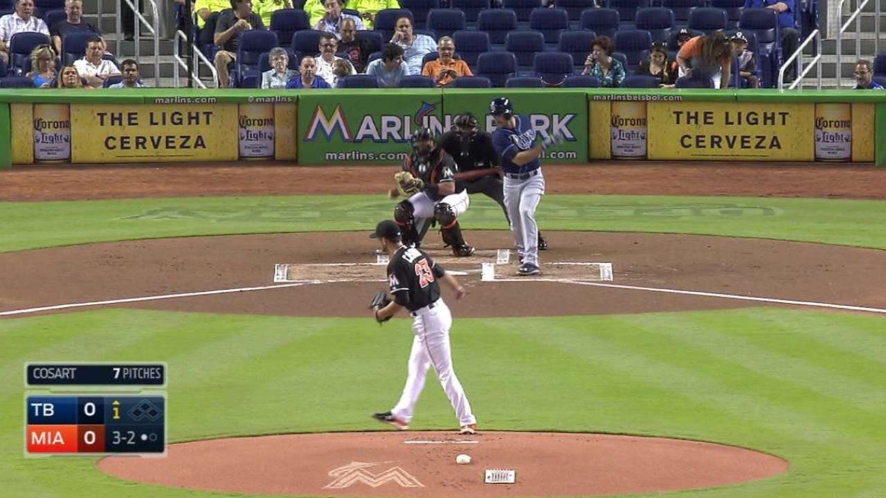 With little margin for error, Cosart gets 'fastball-happy'