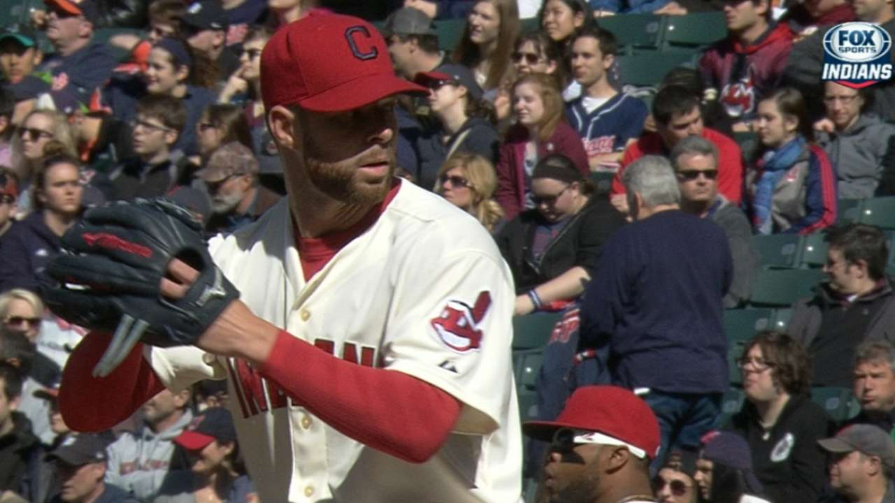 Bullpen unable to protect Kluber
