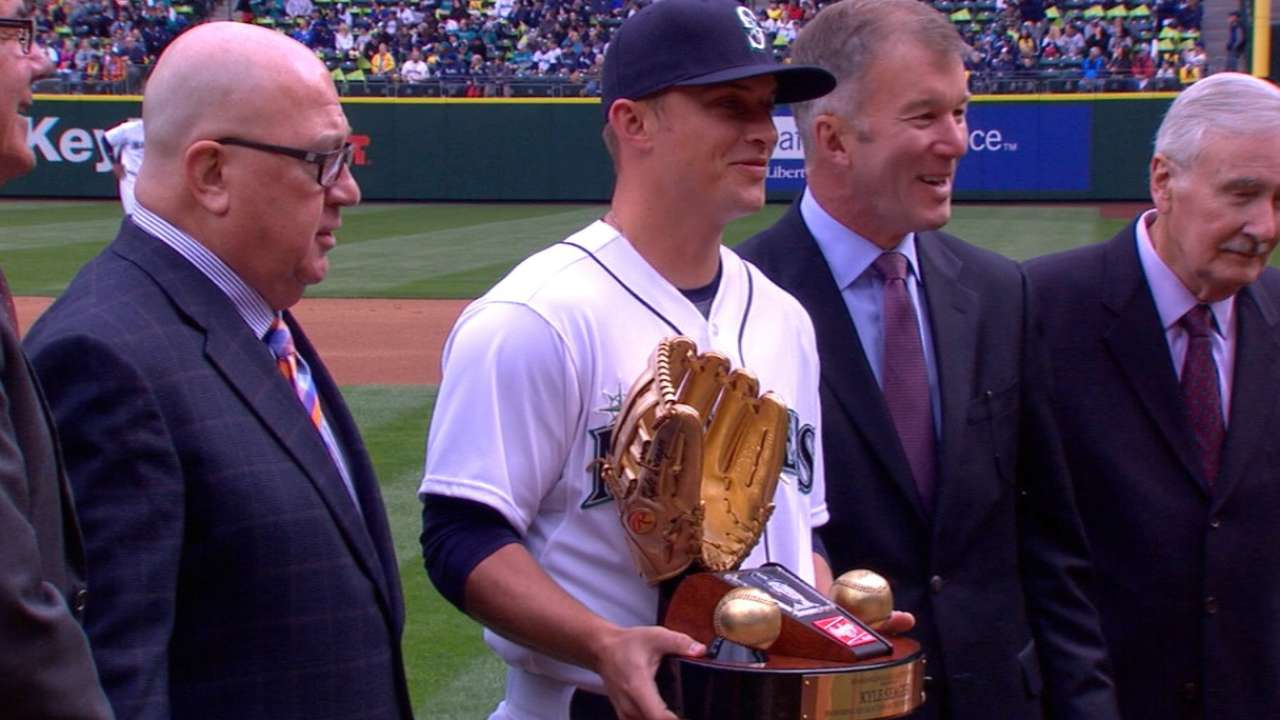 Cora's first pitch highlights Opening Day ceremonies