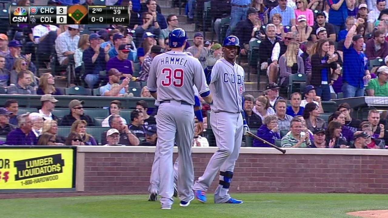Fowler gets warm welcome in 'emotional' return to Coors