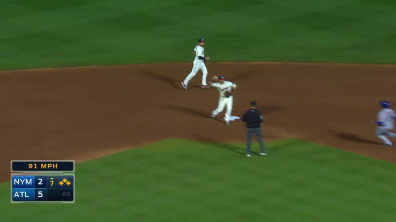 Cunniff gets key double play