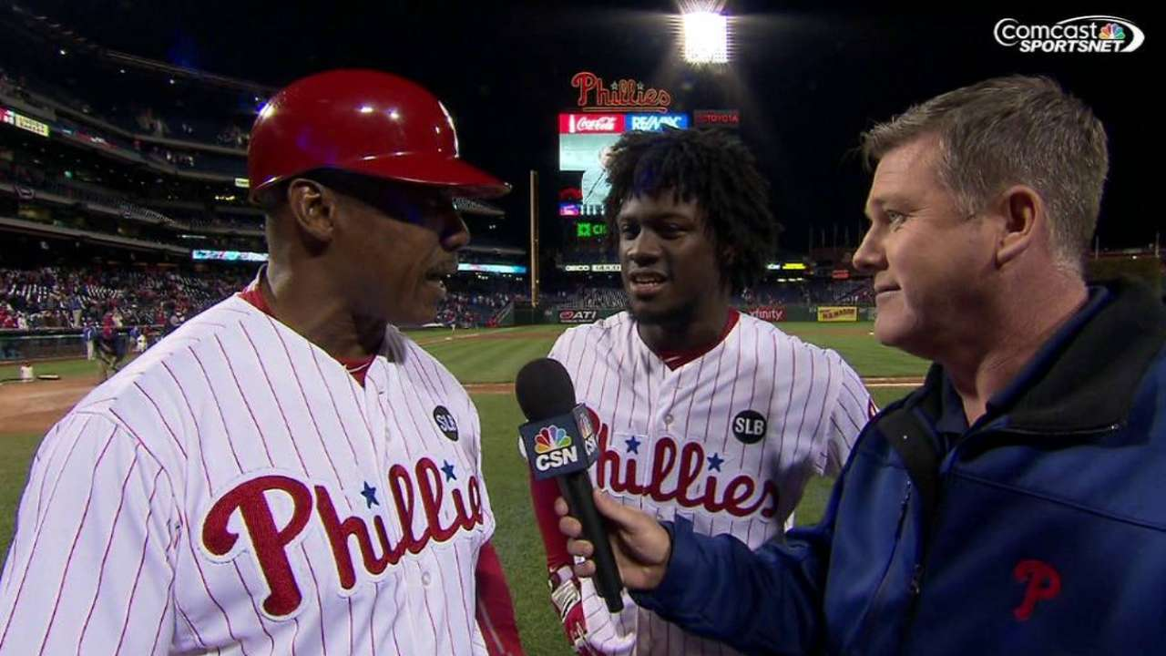 Firsts in 10: Odubel breaks through in big way